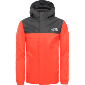 The North Face Resolve Regenjas Jongens, fiery red